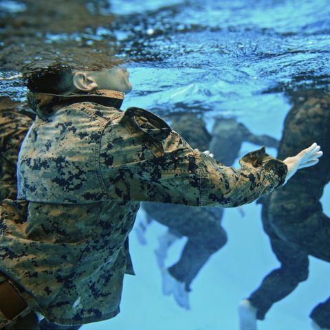 Military using Outex underwater housings