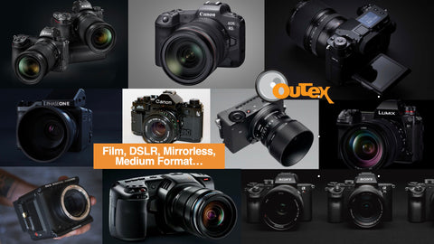Cameras: Film, DSLR, Mirrorless, Cinema, Medium Format
