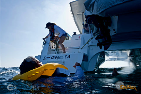 Man overboard safety video for boaters 2