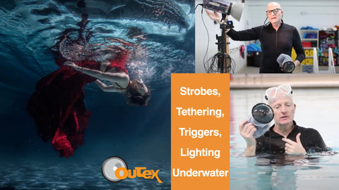 Flash, Lighting, Strobes, Triggers, and Tethering Underwater with Gutierrez Photography