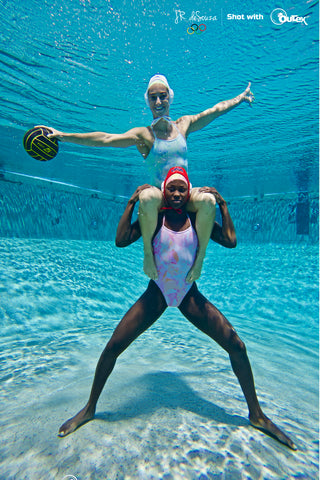 Women's olympic water polo co captains Outex photoshoot 7