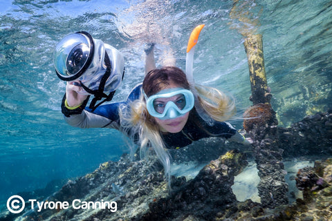 Great Barrier Reef Photographer Joeva Dachelet Sells Underwater Prints at Resorts, Boutiques, and Online 3