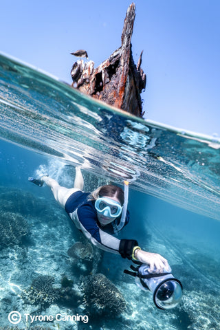 Great Barrier Reef Photographer Joeva Dachelet Sells Underwater Prints at Resorts, Boutiques, and Online 8