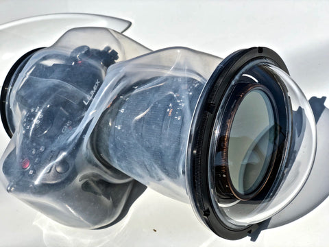 Using ND filters or polarizers with the Outex waterproof housing system