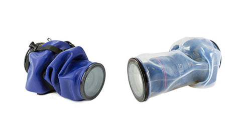 difference between blue and clear Outex waterproof covers 1