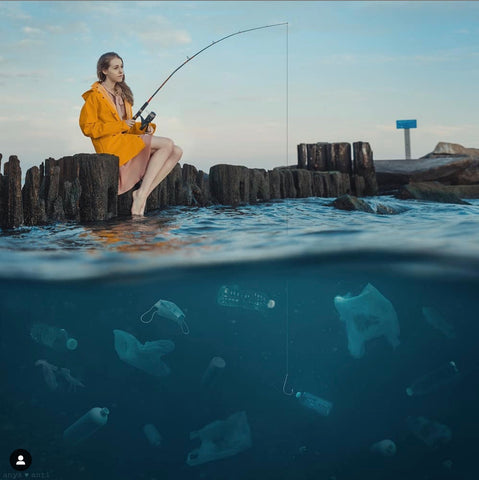 Anya Anti Ocean Plastic Conservation project with Outex