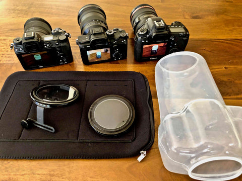 Most travel friendly underwater housing system available adds no weight or bulk to your camera gear 2