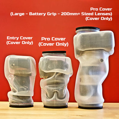 Entry Cover, Pro Cover and Large Pro Cover