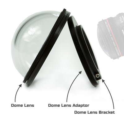Assembly of Dome Lens Clamp