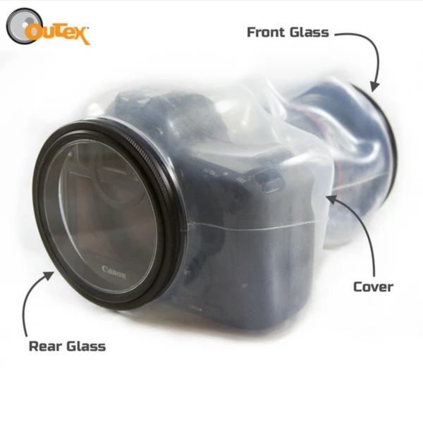 Rear Glass, Front Glass and Outex Cover