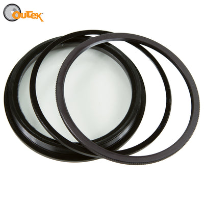 Outex front glass - multiple