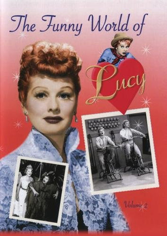 THE FUNNY WORLD OF LUCY   VOLS 1 & 2 - Rewatch Classic TV - 2