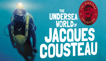 THE UNDERSEA WORLD OF JACQUE COUSTEAU – THE COMPLETE SERIES (ABC 1966-1976)