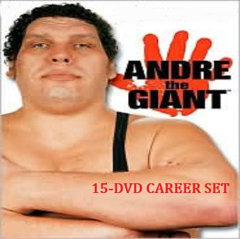 ANDRÉ THE GIANT WRESTLING CAREER 15-DVD SET