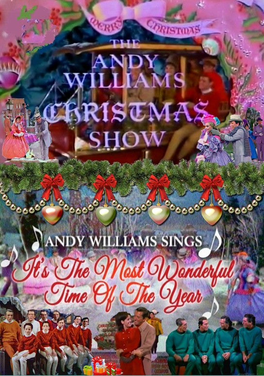 "THE ANDY WILLIAMS 1966 CHRISTMAS SHOW (NBC 12/16/66) + BONUS: ""IT'S THE MOST WONDERFUL TIME OF THE YEAR"""