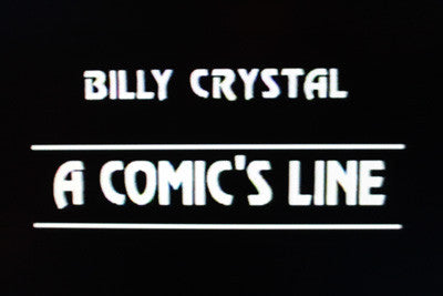 BILLY CRYSTAL: A COMIC'S LINE (HBO 1984) - Rewatch Classic TV