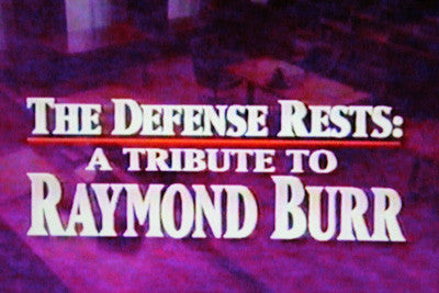 DEFENSE RESTS: A TRIBUTE TO RAYMOND BURR (NBC 10/22/93) - Rewatch Classic TV - 1