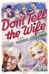 DON'T TELL THE WIFE (1937) (HI-DEFINITION) - Rewatch Classic TV - 1