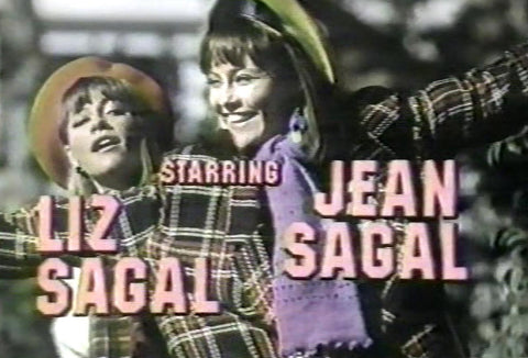 Double Trouble – 1984-85 NBC sitcom about the lives of identical twin sisters (Jean and Liz Sagal) with radically different personalities. The series is available on DVD from www.RewatchClassicTV.com.