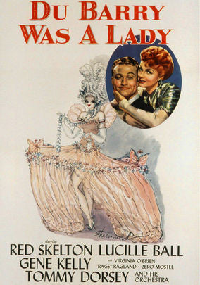 DU BARRY WAS A LADY – Lucille Ball/Red Skelton (1943)