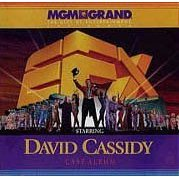 EFX – DAVID CASSIDY LAS VEGAS SHOW CAST ALBUM CD (1997) RARE!!!