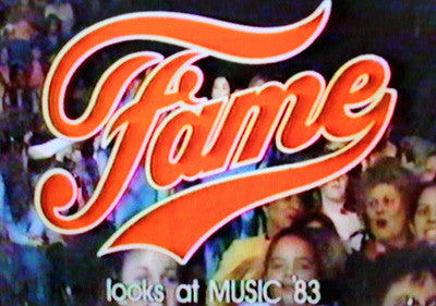 FAME LOOKS AT MUSIC '83 (1/28/84) - Rewatch Classic TV - 1