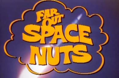 Bumbling NASA food concessionaires Barney (Chuck McCann) and Junior (Bob Denver) become unexpected astronauts on Far Out Space Nuts - the classic 70's Saturday morning CBS series.  All 15 episodes are available on DVD from RewatchClassicTV.com.