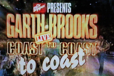 GARTH BROOKS COAST TO COAST LIVE 3-DISC SET (CBS 2001) - Rewatch Classic TV - 1