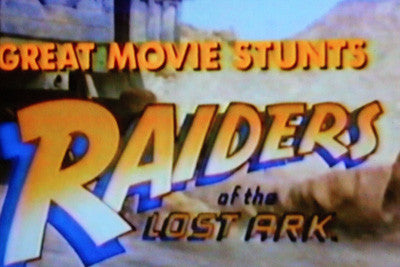 GREAT MOVIE STUNTS - RAIDERS OF THE LOST ARK (CBS TV Special 1981) - Rewatch Classic TV - 1