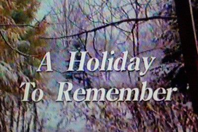 A HOLIDAY TO REMEMBER (CBS-TVM 12/12/95) - Rewatch Classic TV - 1