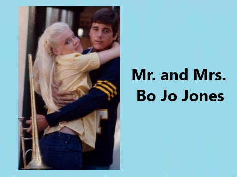 MR. AND MRS. BO JO JONES (ABC-TVM 11/16/71)