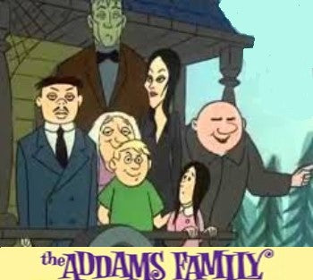 THE ADDAMS FAMILY - THE COMPLETE ANIMATED SERIES + BONUS (1973)