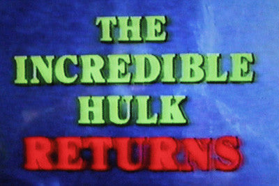 INCREDIBLE HULK RETURNS, THE (1998 CBS-TVM - Bill Bixby/Lou Ferrigno) - Rewatch Classic TV - 1