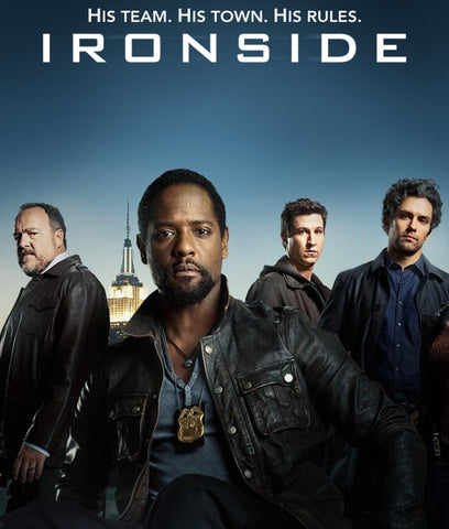 Ironside starring Blair Underwood was a 2013 reboot of the 60s series that originally starred Raymond Burr.  All 9 episodes produced are available on DVD from RewatchClassicTV.com.