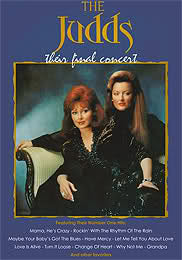 THE JUDDS - THEIR FINAL CONCERT (1991) (HARD TO FIND)