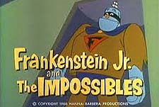 FRANKENSTEIN JR AND THE IMPOSSIBLES (CBS 1966-68)
