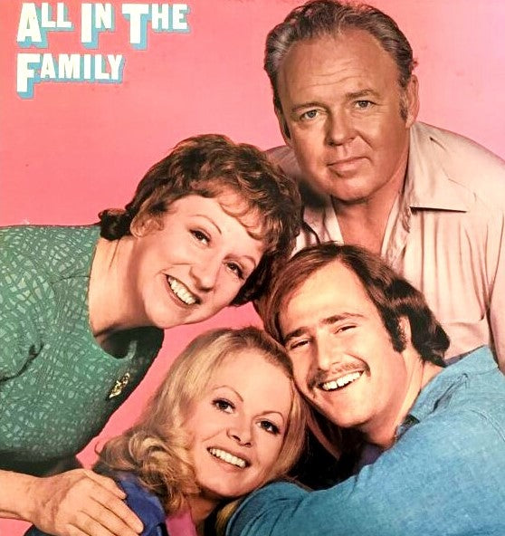 ALL IN THE FAMILY - THE COMPLETE SERIES + BONUS (CBS 1972-79)
