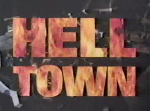 HELL TOWN – ROBERT BLAKE RARE COMPLETE SERIES + PILOT MOVIE (NBC 1985)