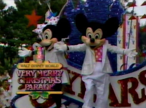 1986 WALT DISNEY WORLD'S VERY MERRY CHRISTMAS DAY PARADE (ABC 12/25/86)
