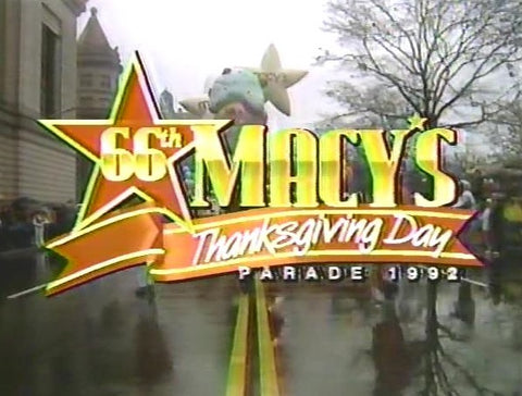1992 MACY'S THANKSGIVING DAY PARADE (NBC 11/26/92)