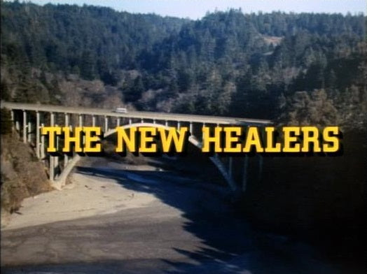"""The New Healers"" is a 1972 made for TV movie about a small rural California hospital and its young staff trying to gain the confidence of the local community, along with their older counterparts.  Stars Kate Jackson, Robert Foxworth, Burgess Meredith and Leif Erickson. This rare film is available on DVD from RewatchClassicTV.com"