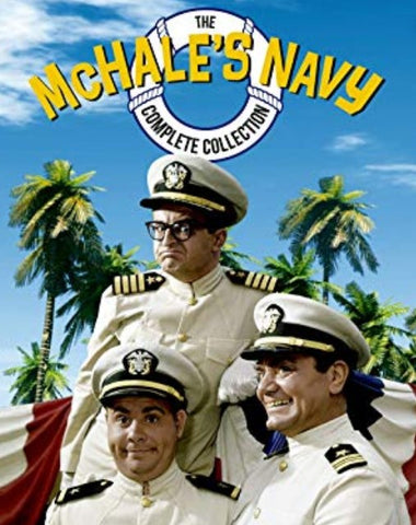 MCHALE'S NAVY – COMPETE SERIES + BONUS MOVIES (ABC 1962-66)