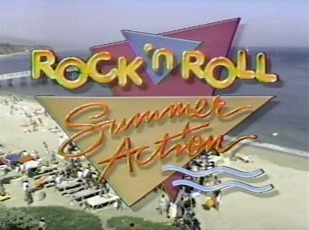 DICK CLARK'S ROCK 'N ROLL SUMMER ACTION (1985) RARE!!!