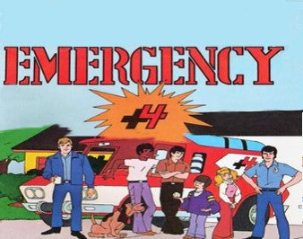EMERGENCY +4 (NBC 1973-74) VERY RARE!