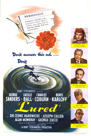 LURED (1947) - Rewatch Classic TV - 1