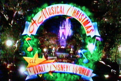A MUSICAL CHRISTMAS AT WALT DISNEY WORLD (ABC 12/18/93) - Rewatch Classic TV - 1