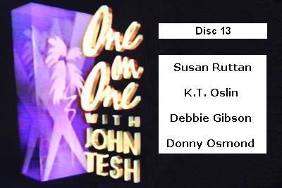 ONE ON ONE WITH JOHN TESH - DISC 13 (1991-92 NBC Daytime) - Rewatch Classic TV - 1