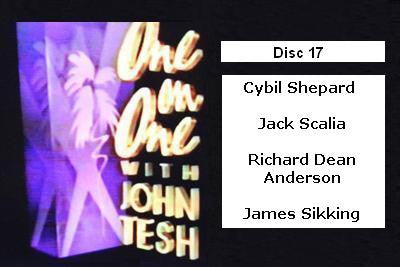 ONE ON ONE WITH JOHN TESH - DISC 17 (1991-92 NBC Daytime) - Rewatch Classic TV - 1