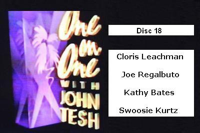 ONE ON ONE WITH JOHN TESH - DISC 18 (1991-92 NBC Daytime) - Rewatch Classic TV - 1