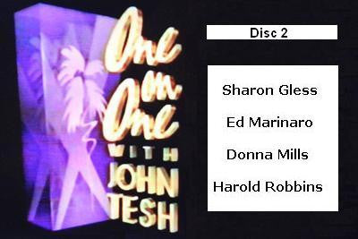 ONE ON ONE WITH JOHN TESH - DISC 2 (1991-92 NBC Daytime) - Rewatch Classic TV - 1